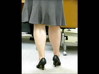CoWorker's strong legs