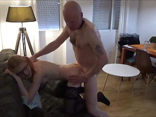 Horny Angel and dirtty Grand – age is no excuse 4 sex