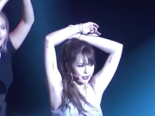 HyunA red fancam