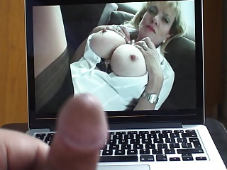 Lady Sonia JOI Over Her Big Tits – Creamy Cum Load!