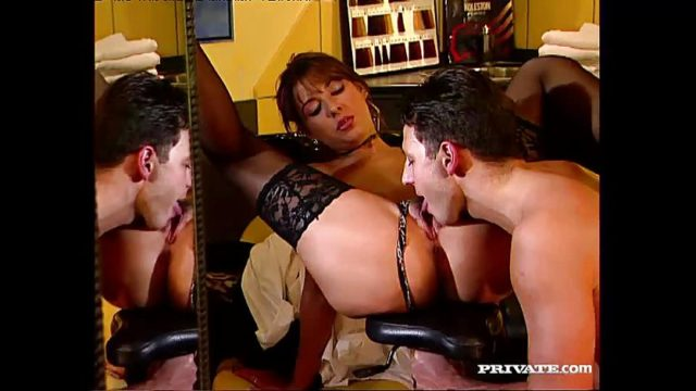 Maria Bellucci is a Slutty Hairdresser With Anal Fetish