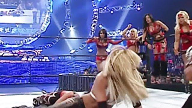 Michelle McCool – Survivor Series 2007 quick Nipple slip