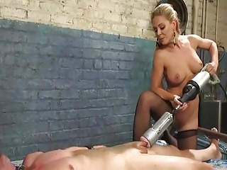 Mistress and her toy boy