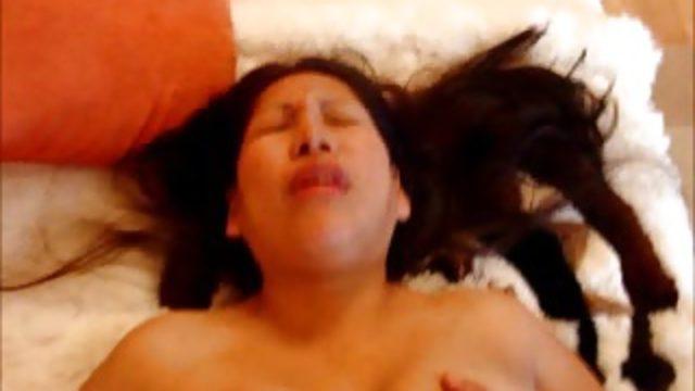 Peruvian latina climax