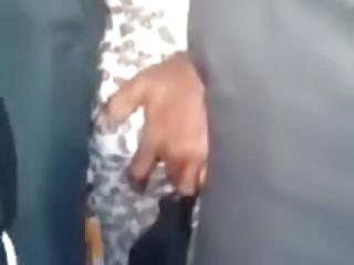 Secrete things doing in public train