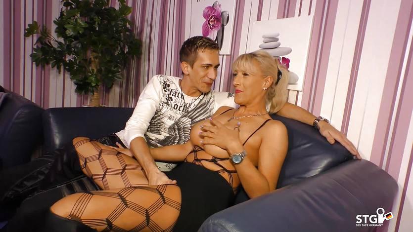 SexTapeGermany – German sex tape with Blonde MILF