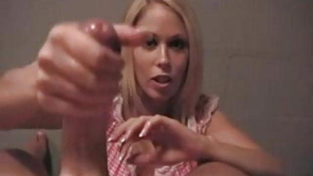 Sexy Blonde POV Hj