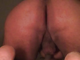 Shaking and fingering my big fat ass for you guys