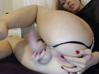 Small tits, huge dick