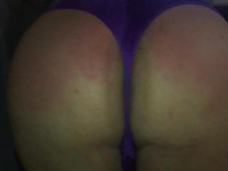 Spanking from my gf