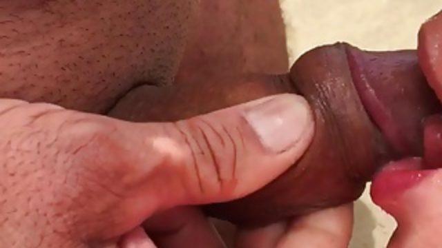 Sucking more cock in the dunes