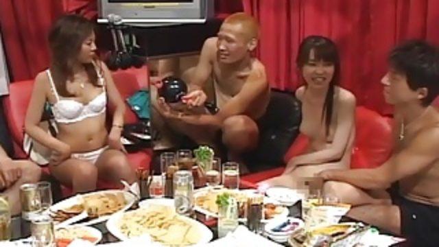 Tokyo Model Detective Finds Japanese Karaoke Orgy