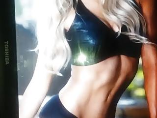 WWE Summer Rae Cum Tribute