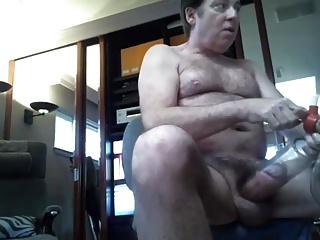 BUDDY PUMP'S HIS FAT COCK