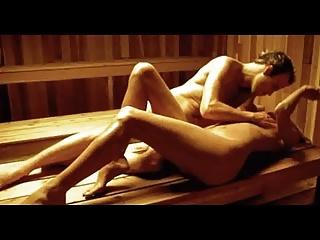 Celebrity Sex Scene – Natasha Henstridge Sauna Sex